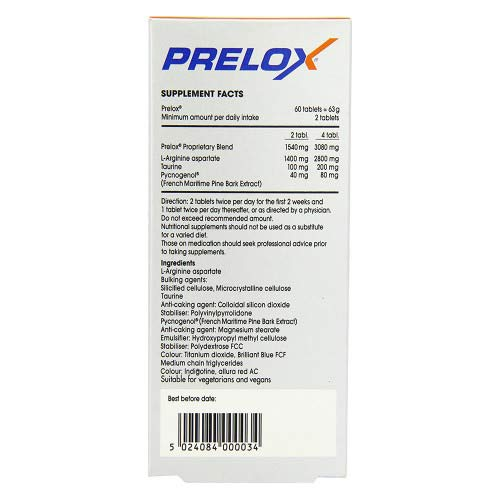prelox ED Treatment for men